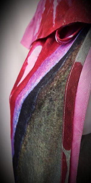 Detail broek van Crea bij Sjàzz-design