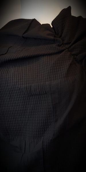 Detail van tuniek van Elsewhere bij Sjàzz-design