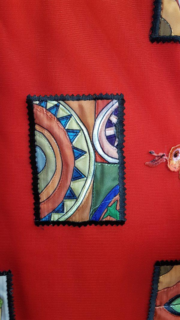 Detail Jurk van Heart bij Sjàzz-design