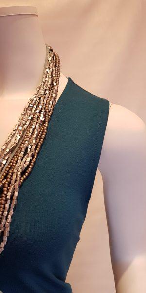 "Detail jurk ""Bibi""van Sjàzz-design"