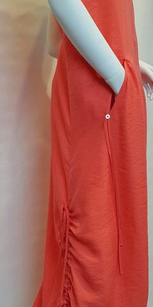 Detail jurk Crea bij Sjàzz-design
