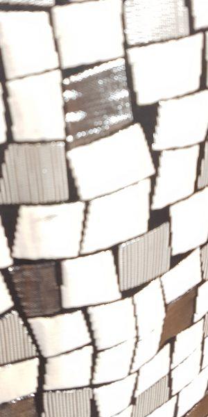 Detail van rok exclusief Sjàzz-design
