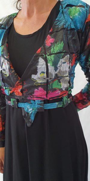 Bijzonder jasje, bloemen jasje, Speciale kleding, feestkleding, Sjàzz Design