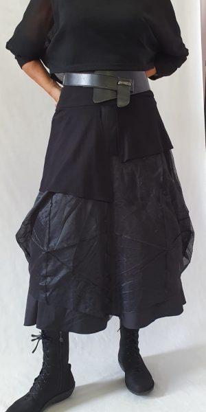 Nör , zwarte rok met tule, collectie 2019