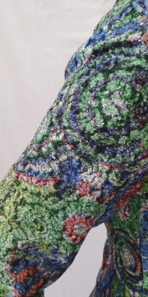 jurk heart bij Sjàzz Design, leuke winterjurk, a-lijn winterjurk