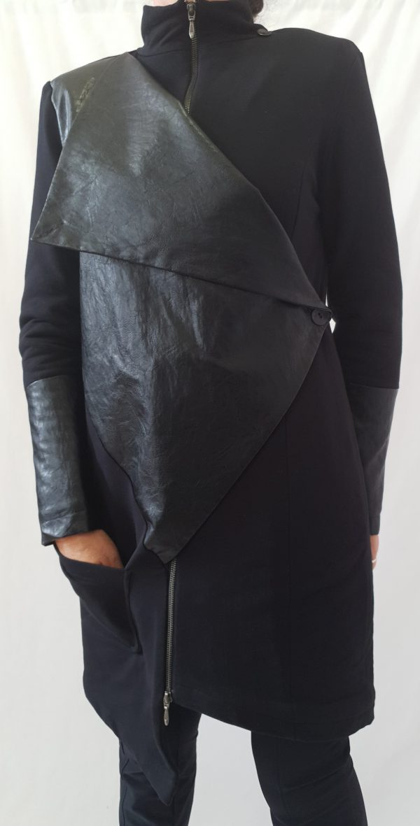 Jas, zwarte winterjas, Elsewhere winterjas, Sjazz winterjas