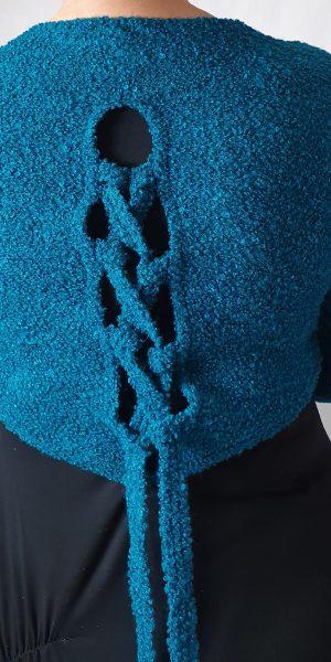 aparte trui, zeegroene trui, sjazz in Roosendaal, mooie trui