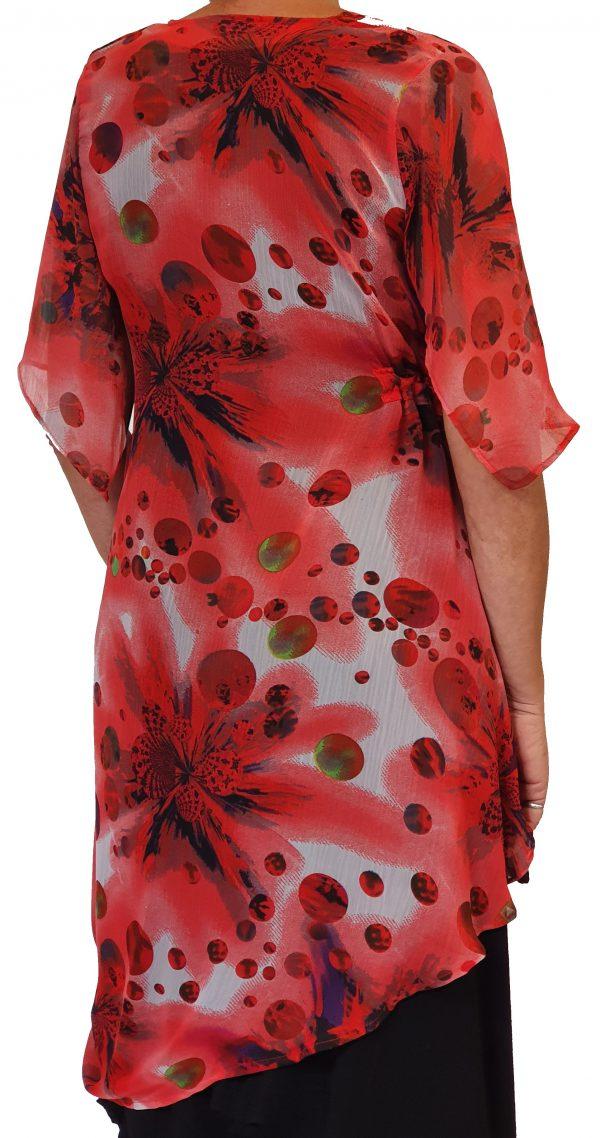 Rood tuniek van Sjàzz Design