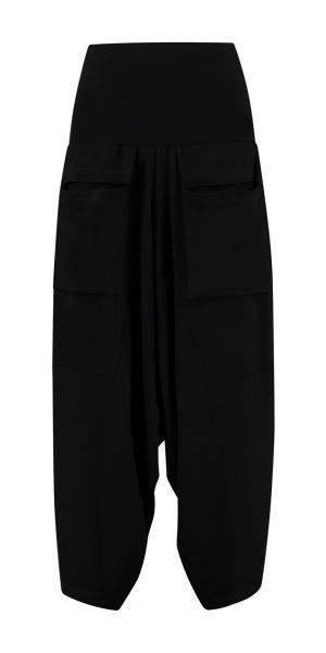 #Sjazz design#, # Elsewhere#, # zwarte broek #, # zwarte zouave met zakken# , # aparte broek#