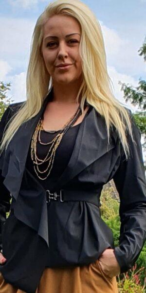 kort zwart jasje Elsewhere