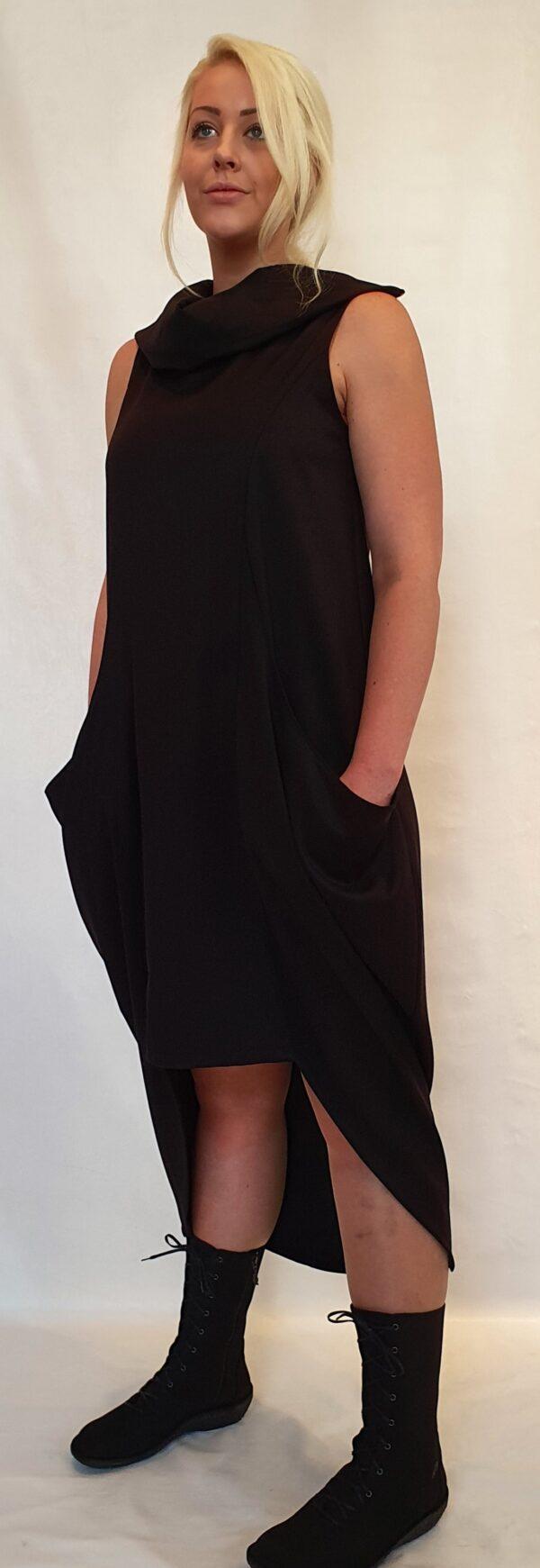 zwarte jurk van La Haine