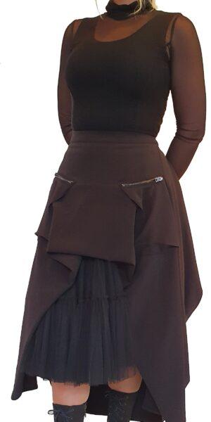 Zwarte rok van La Haine